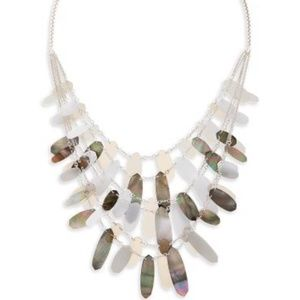 Kendra Scott Patricia Necklace Shell NWOT